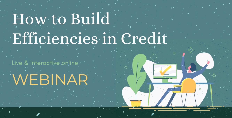 credit effectiveness webinar
